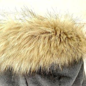 Hollister Jackets & Coats - Hollister soft jersey knit anorak fur hood coat